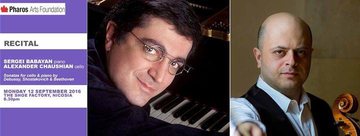 Recital: Sergei Babayan / piano & Alexander Chaushian / cello