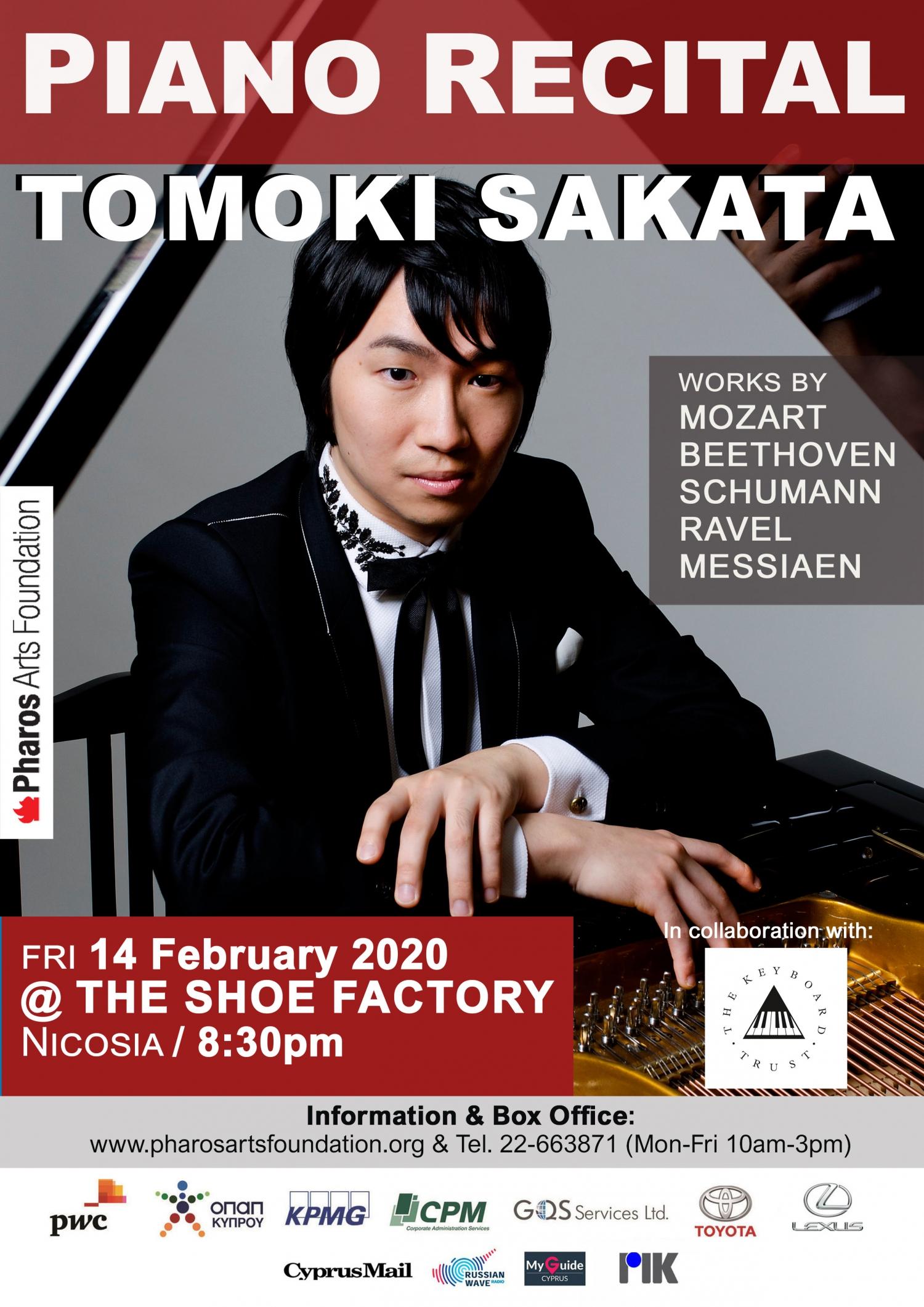 Recital Tomoki Sakata