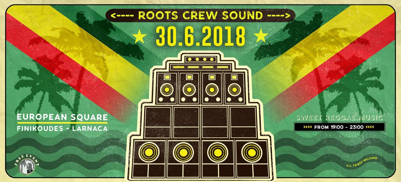 Roots Crew Soundsystem at Larnaca, Finikoudes