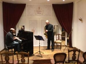 Saxophone & Piano: Jazz Music Concert