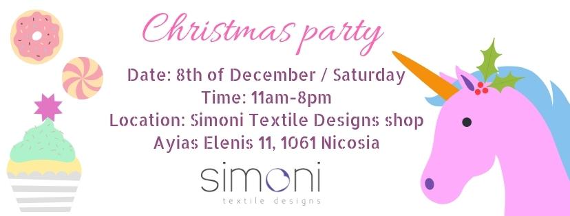 Simoni Textile Designs / Christmas Party