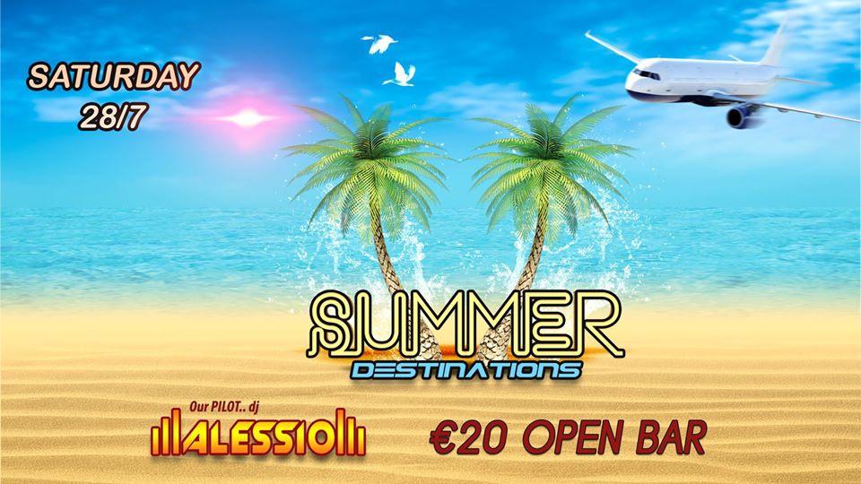 Summer Destinations - Open Bar