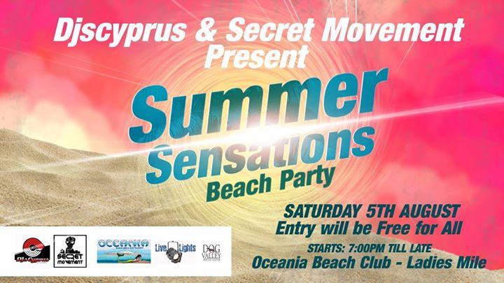 Summer Sensations Beach Party