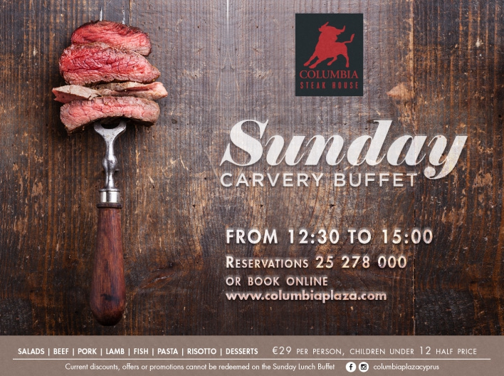 Sunday Carvery Buffet at Columbia Steak House