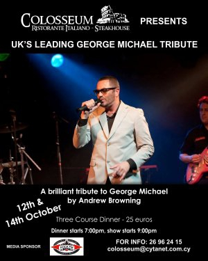 UK's Leading Tribute to George Michael by Andrew Browning
