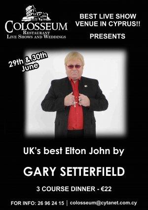 UK's No1 Tribute to Elton John by Gary Setterfield