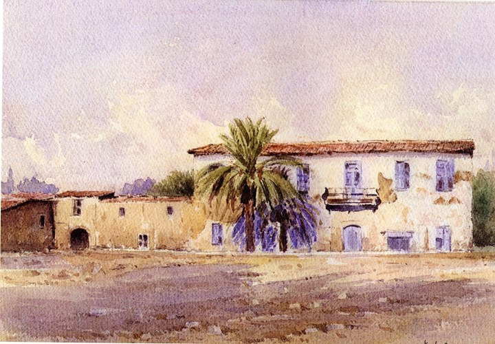 Watercolour Demonstration by Kyriacos Lyras