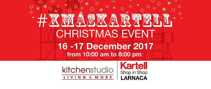 XmasKartell Event by Kartell shop in shop Larnaca