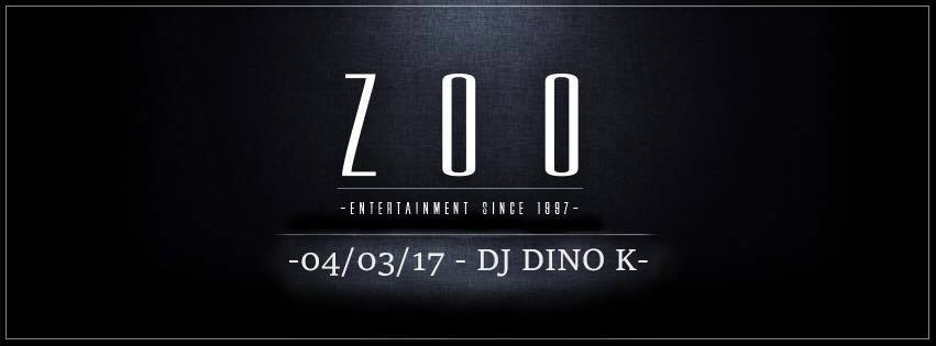 Zoo The Club Presents: Dj Dino K