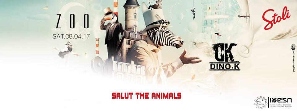 Zoo The Club : Salut the animals / Dino k