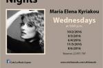 Live Music with Maria Elena Kyriakou
