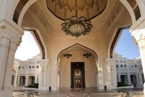 Abu Dhabi Small Group Tour & Etihad Towers Ticket from Dubai