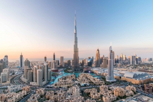 Burj Khalifa 124 & Lunch or Dinner at Rooftop, The Burj Club