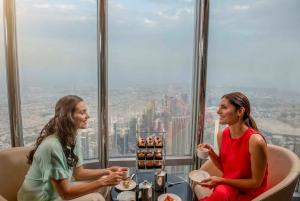 Burj Khalifa Lounge Tea in the Clouds Experience