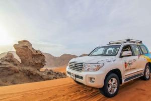 Desert Drive & Wadi Shawka Pool Visit
