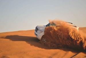 Desert Safari, Camel Ride, and BBQ Dinner