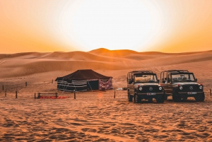 Desert Safari on a 1980 Vintage Mercedes