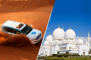 Desert Safari with BBQ and Sheikh Zayed Mosque Tour