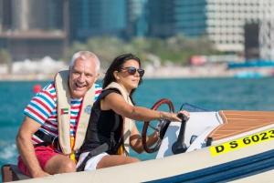 Dubai: 1.5-Hour Self-Drive Boat Trip