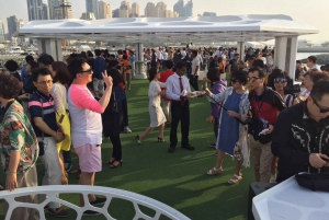Dubai: 2-Hour Mega Yacht Tour with Buffet Dinner
