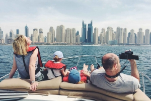 Dubai: 2-Hour Sea Cruise: Swim, Tan, and Sightsee