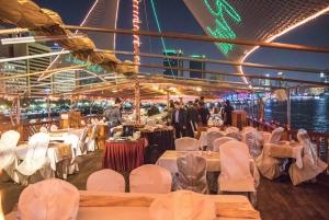 Dubai: 5-Star Buffet Dinner Dhow Cruise around Dubai Marina