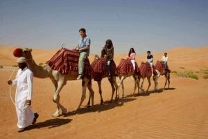 Dubai 6-Hour Evening Camel Safari and BBQ Dinner