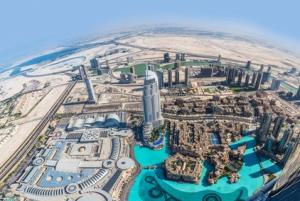 Dubai: Burj Khalifa VIP Lounge with Panoramic Sunset View