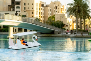 Dubai: Burj Lake Boat, Water, and Kayaking Activities