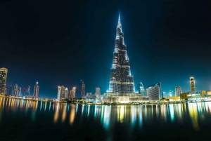 Dubai by Night City Tour with Fountain Show