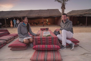 Dubai: Desert Safari, Camel Ride, Sandboarding & BBQ Options