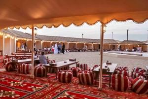 Dubai: Desert Safari, Quad Bike, Camel Ride & Al Khayma Camp