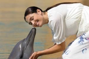 Dubai: Dolphin & Sea Lion Photo Fun at Atlantis