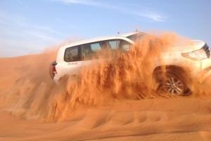 Dubai: Extreme Desert Safari, Sand Boarding & Camp BBQ