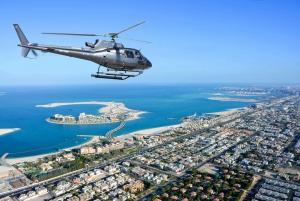 Dubai: Helicopter Flight Over The Palm Jumeirah