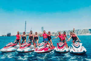 Dubai: Jet Ski Tour including Burj Khalifa and the Marina