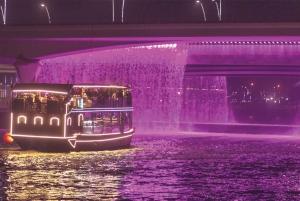Dubai: Luxury Canal Dinner Cruise with Optional Transfers