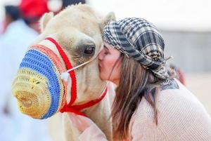 Dubai: Morning Desert Safari with Sandboarding & Camel Ride