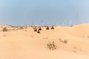 Dubai: Quad Bike Safari with BBQ Dinner & Live Shows