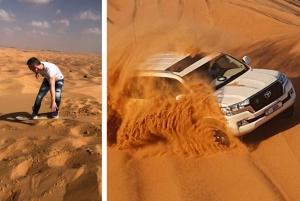 Dubai: Red Dune Desert Morning Adventure with Sand Boarding