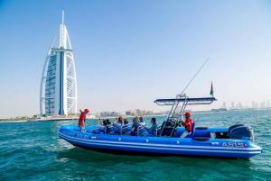 Dubai Speedboat Tour: Marina, Atlantis, Palm & Burj Al Arab