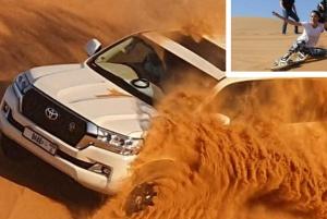 Extreme Desert Safari, Sand Boarding & Camp BBQ