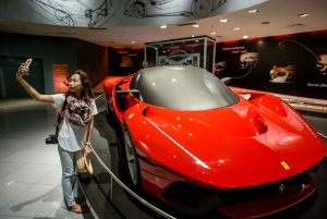 From Abu Dhabi Day Tour with Ferrari World Ticket