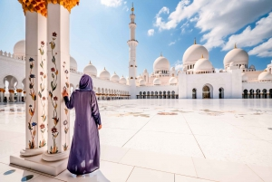 From Abu Dhabi Mosque, Qasr Al Watan & Etihad Towers