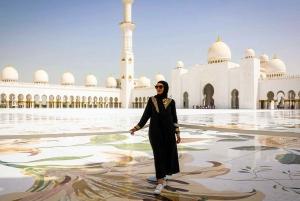 From Abu Dhabi Port: Abu Dhabi Half–Day City Tour