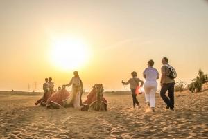 From Dubai: Desert Safari, BBQ, Quad Biking, Shisha & Drinks