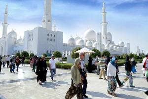 From Dubai: Grand Mosque & Louvre Museum Abu Dhabi Tour