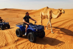 From Dubai: Morning ATV Quad Biking Desert Safari Adventure