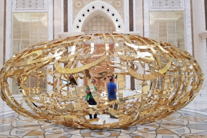 From Dubai: Private Abu Dhabi Day Tour with Qasr al Watan