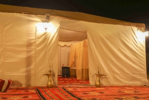 From Dubai: Red Dunes and Camel Safari with Overnight Camp